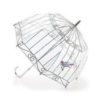 Lulu Guinness Bird In A Birdcage Umbrella