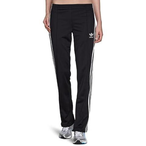 adidas Firebird TP - Pantalón de tiempo libre y sportwear para mujer, talla 34, color negro /