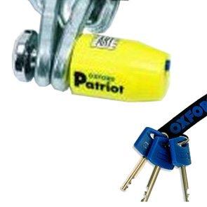 OXFORD PATRIOT LOCK DISC PIN 75MM