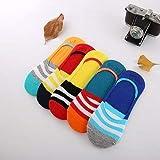 women Anti Skit Loafer Socks (Multicolor, Large) -Pack of 6