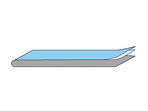 GIMA 23657 Klebestreifen, steril, 10 cm x 50 cm (200-er pack) (Sterile Klebestreifen)