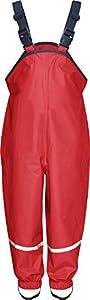 Playshoes Regenlatzhose 405424 Unisex - Kinder Hosen/ Lang, Gr. 98 Rot (rot 8)