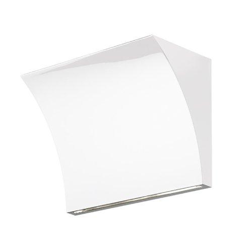 Flos - Pochette Up/Down - Blanc Brillant - Rodolfo Dordoni - Applique - Applique Murale - Salon Design