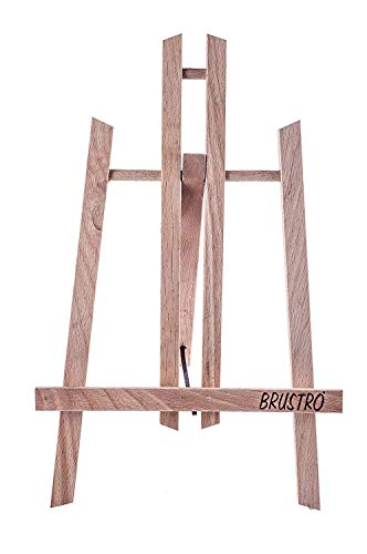 Brustro Artists Small Tabletop A-Frame Wooden Easel Size - 12 inch