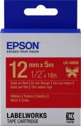 Preisvergleich Produktbild EPSON Ribbon LK-4RKK red/gold