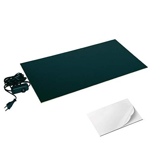 Selbstklebende Infrarot Wärmeplatte 30x60cm 150W Schreibtisch-Heizung warme Füße -