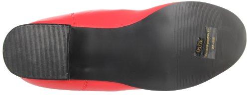 Pleaser Hero100/R/Pu, Stivaletti Uomo Rosso (Red)