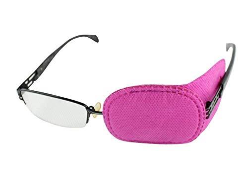 Eye patch- 6Kinder Amblyopie Eye Patches Amblyopie Schielen Lazy Eye Patch Sehschärfe Recovery Vision Training für Mädchen Jungen Kinder Hot Pink