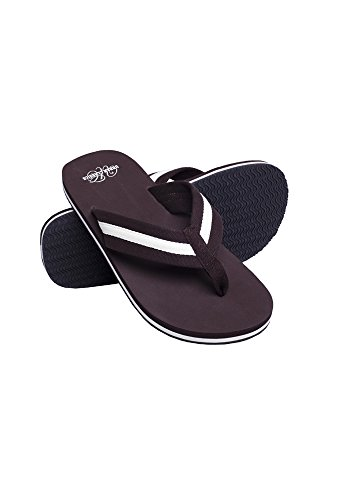 Beach Slippers bro/wht 37 - Beach Bracciali