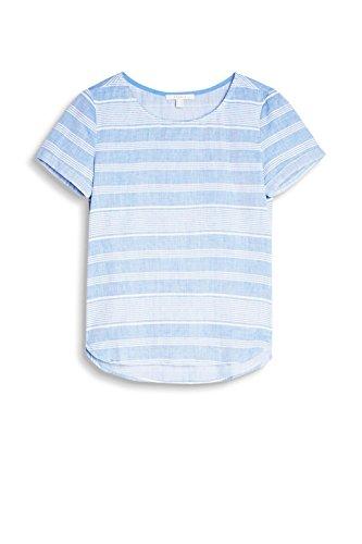ESPRIT Damen Bluse Mehrfarbig (Blue 2 431)