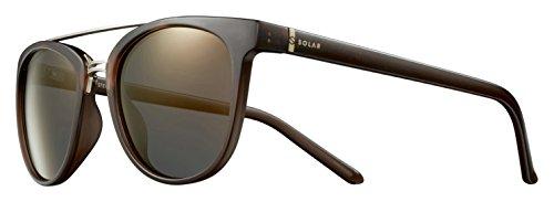 Solar Stewart Sonnenbrille Unisex Erwachsene, Braun/Transparent Preisvergleich