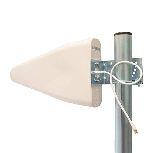 PremiumX LTE Antenne Outdoor 3G/4G - 800-1800 - 2600 MHz - LTE MiMo Richtantenne inkl. Kabel - Hotspot Mobilfunk Vodafone Telekom Modem Router W-LAN