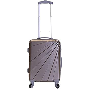 Calitek Hand Luggage Cabin Suitcase With 4 Wheels And Lock Home, Furniture & DIY