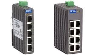 MOXA Unmanaged Industrial Ethernet Switch, 5 ports, EDS-205