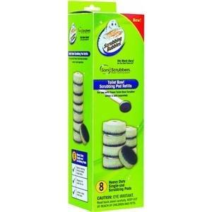 Blase Pad (sonicscrubbers TBRF Schrubben Blasen WC-Schüssel Schrubben Pad Refills, 8Stück)