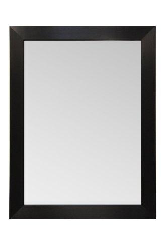 Raphael Rozen Holz Rahmen Moderner Wandspiegel, Rechteck, schwarz Finish Modern 30x30 Espresso Black -