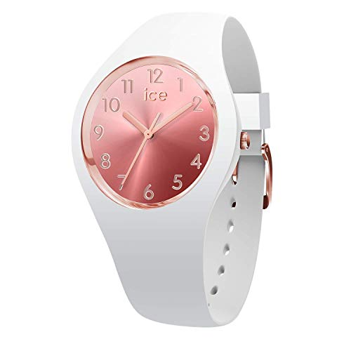 Ice-Watch - ICE sunset Blush - Montre blanche pour femme avec bracelet en silicone - 015744 (Small)