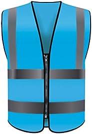 Safety vest Reflective Vest Vest Site Construction Worker Car Safety Building Traffic Reflective Clothing Six