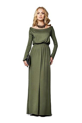 AE -  Vestito  - Vestito - Maniche lunghe  - Donna cachi