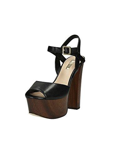 Sandali Guess Donna Nero Taglia 40 - FLDE21LEA03-BLACK-40