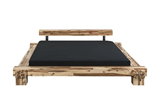 Modular cal180.41 Bett Cali / 180 x 200 cm/Akazie massiv, natur gewachst