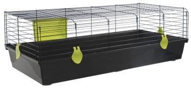 voltrega-jaula-conejo-527-negra-plegable