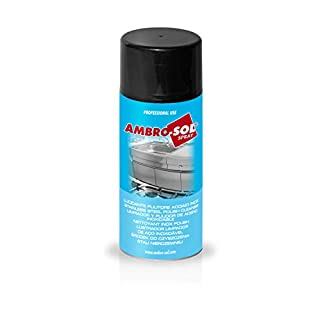 Ambro-Sol P324 Stainless Steel Polish Cleaner, Straw Yellow