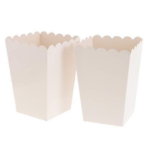 pcorn Tasche Box Snacktüten Süßigkeiten Schachtel Nachtisch Tüten, aus Pappe ()