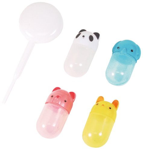 CuteZCute Bento Soy Sauce Case Container with Dropper, Animals by CuteZCute Bento-sauce