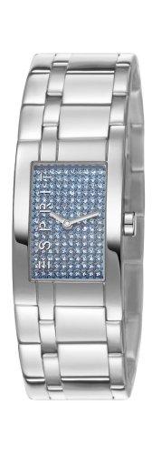 Esprit houston ES107042005 - Reloj analógico de cuarzo para mujer, correa de acero inoxidable color plateado