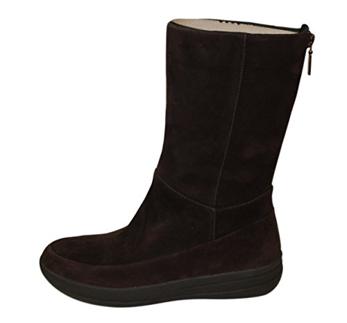 Fitflop Womens Boots Brown Dark Brown