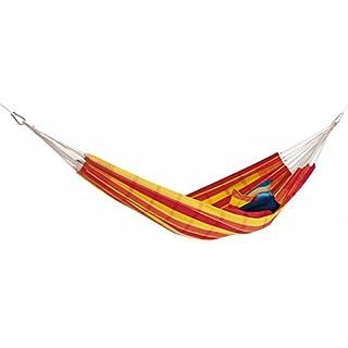 AMAZONAS Barbados Hammock brown/blue Colour red/yellow 2018 camp hammock