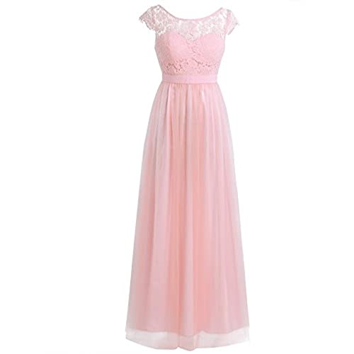 Pink bridesmaid dresses with sleeve for Amazon cheap wedding dresses