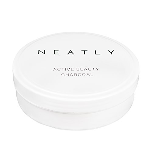 Aktivkohle Pulver Activated Charcoal Allrounder von NEATLY   Natürliches effektive Zahnaufhellung   Anti Pickel Aktivkohle Maske   Detox Bad
