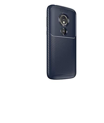 Coque Motorola Moto E5 Play Go,Ultra Mince Léger Antichoc Flexible TPU Souple Silicone Protection Case Cover pour Motorola Moto E5 Play Go - Bleu