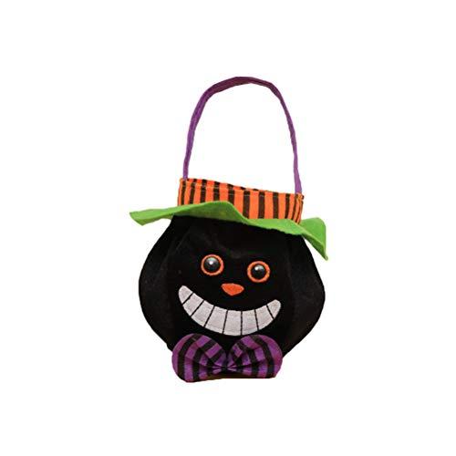 Amosfun Happy Halloween Candy Handtasche Tuch Kinder Geschenk Taschen Halloween Weihnachten Geburtstagsgeschenk für Kinder