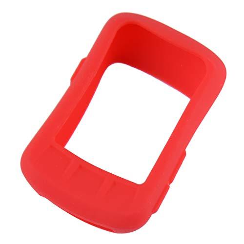 Weiche Silikonhülle Schutzhülle für Wahoo Elemnt Bolt GPS Fahrradcomputer Größe: ca.7.7x5x1.8cm(3.03x1.97x0.71inch) Rot
