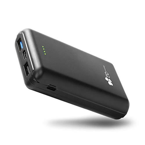 EC Technology Powerbank, 13000mAh Externer Akku Quick Charge 3.0 USB C PD 18W Powerbank Kompatibel mit Andriod Handy und andere Smartphones