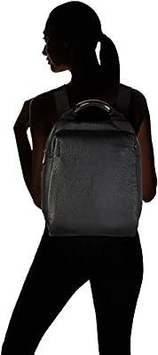 Mandarina Duck - Mellow Leather Tracolla, Shoppers y bolsos de hombro Mujer, Negro (Nero), 7x27x27 cm (B x H T) de Mandarina Duck