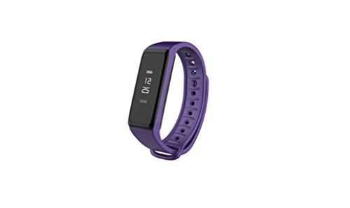 MYKRONOZ Fitnessarmband Uhr Touchscreen IP67 Wasser Resistent BT Lila