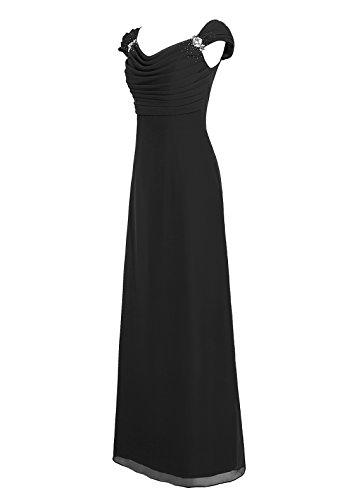 Dresstells, robe longue de demoiselle d'honneur, robe de soirée , robe de cérémonie Bordeaux