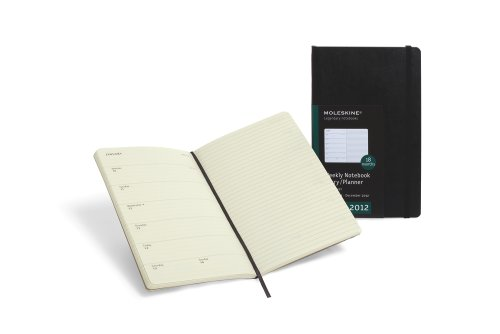 For Sale 2012 Moleskine Extra Large Weekly Notebook 18 Months Soft Special