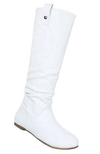 Senhoras Botas Sapatos Botas De Conforto Branco 36 37 38 39 40 41