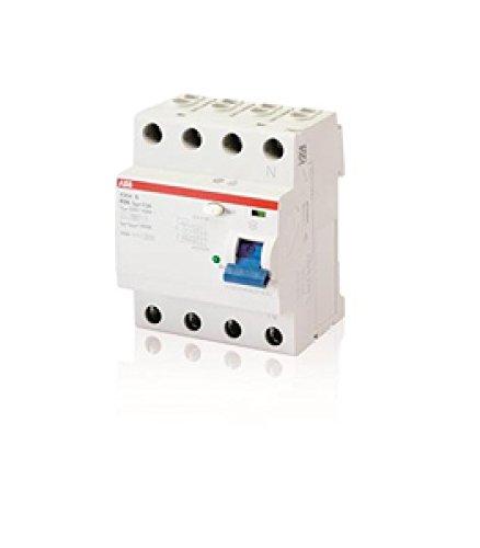 ABB F204B E interruptores. differ. PURO 4P B S 63/500