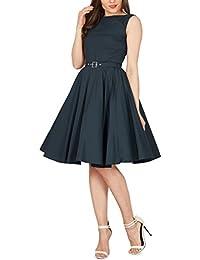 Black Butterfly 'Audrey' Vintage Clarity Kleid im 50er-Jahre-Stil