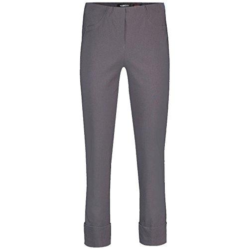 Robell Bella Slim Fit 7/8 Stretchhosen Schlupfhosen Damen Hosen #Bella versch.Farben Anthrazit