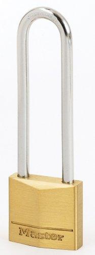MASTER LOCK - 130EURDLJ - Messing Vorhängeschloss 30mm mit hohem Bügel