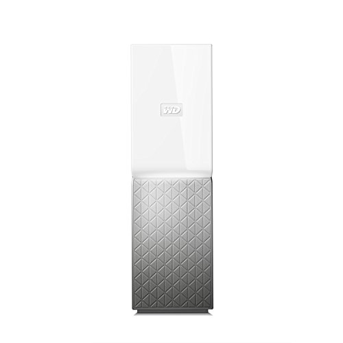 Western Digital My Cloud Home - Almacenamiento en Red NAS de 6 TB, 1 bahía