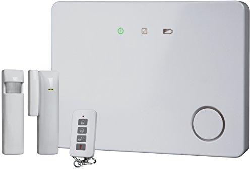 Smartwares HA701IP SW Système complet d'alarme sans fils sous ip évolutif/connecté