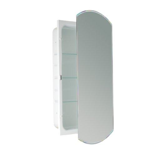 Head West Abgeschrägte Spiegel-Medizinschrank, 40,6 x 76,2 cm -